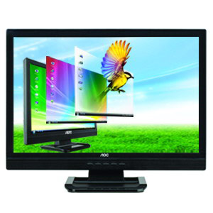 "AOC 2216V 22"" Wide Screen LCD with DVI"